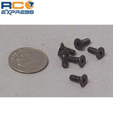 6 Associated Factory Team Flat Head Socket Screw 4-40x5//16 ASC7673