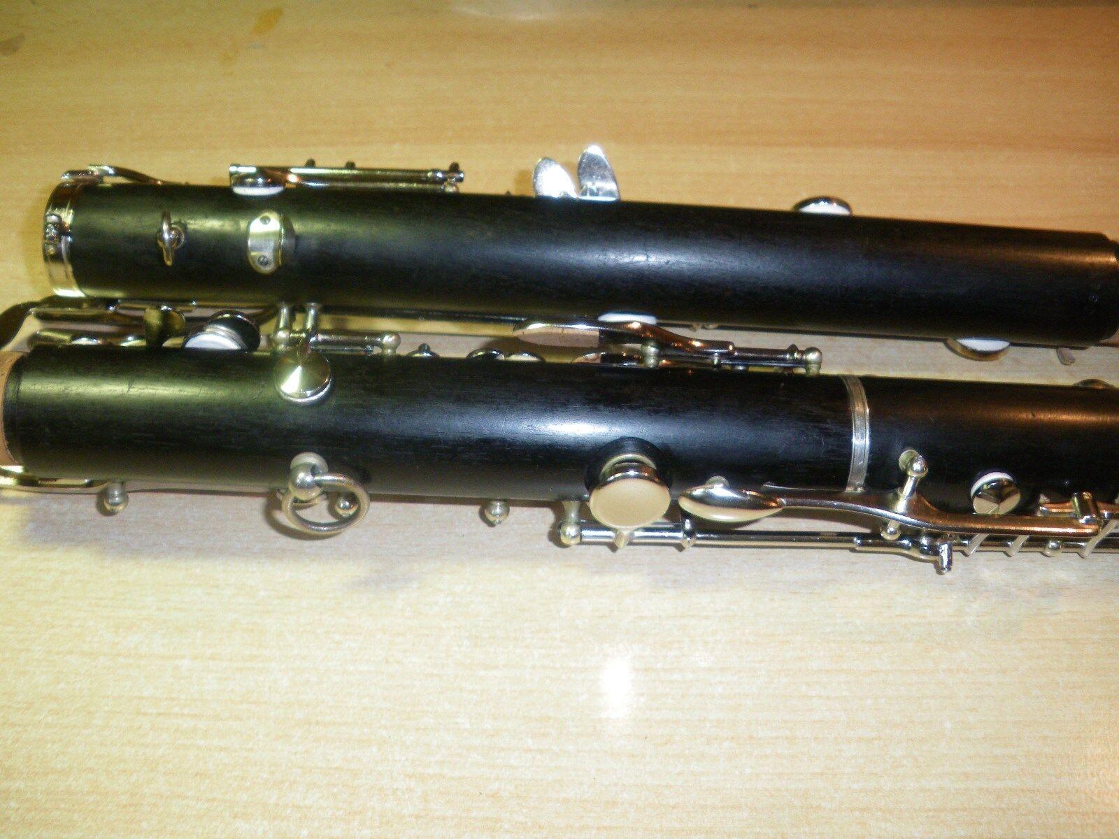 Farbwahl Der Zweite Abschnitt Der Klarinettenpfeife Für B-Klarinette