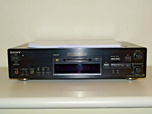 Sony MDS-JB980 High-End MiniDisc Recorder inkl. BDA, Riemen neu, 2J. Garantie