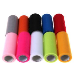 Tulle-Roll-Spool-6-034-x-25YD-Tutu-DIY-Craft-Fabric-Wedding-Party-Decoration-3C