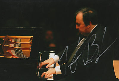 Autographs-original 100% Quality Yefim Bronfman Signed 8x12 Inch Photo Autograph Firm In Structure