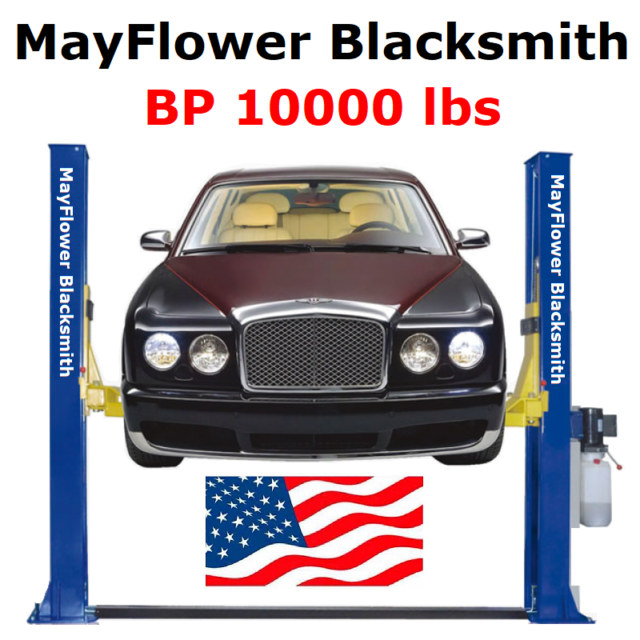 Mayflower Blacksmith Base Plate Two Post Lift Car Lift Service 10000 Lbs  BP10000