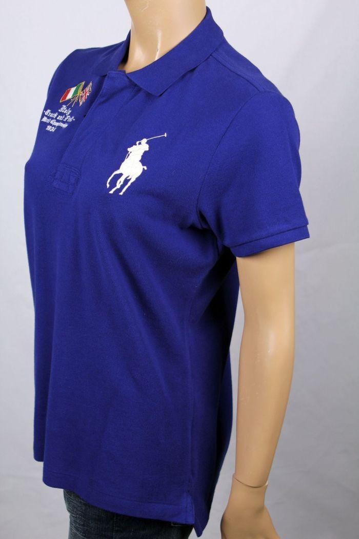 Ralph Lauren Blau  Track & Field Skinny POLO Big Pony NWT