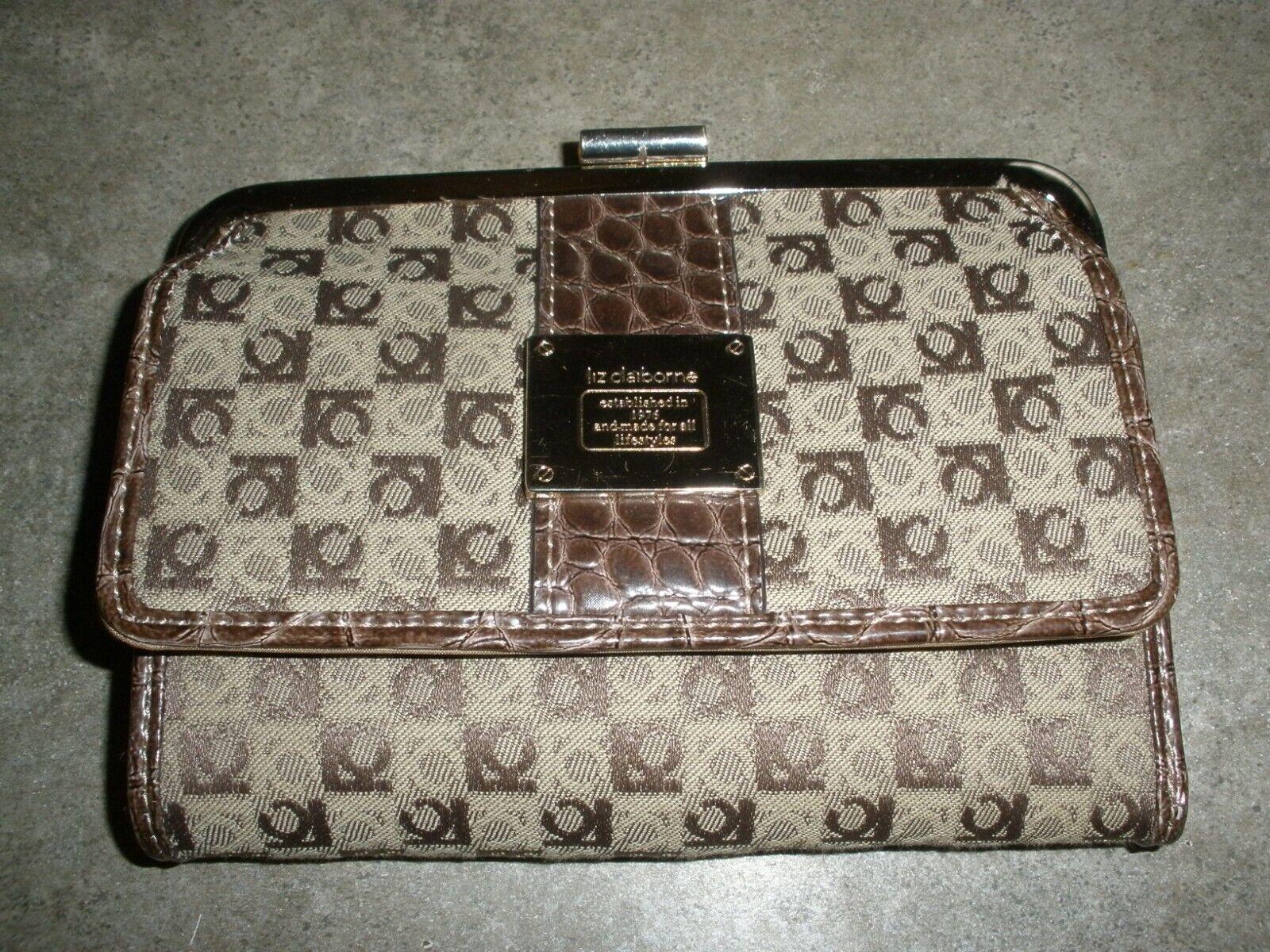 Liz Claiborne Brown Wallet 6