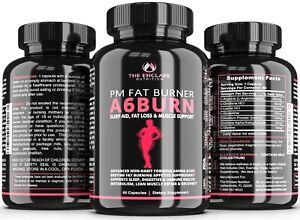 Bedtime Weight Loss Supplement, Nighttime Fat Burner, PM Diet Pills + Sleep Aid