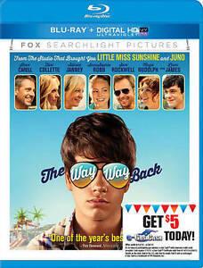 The Way, Way Back (Blu-ray DigitalHD) New Free Shipping