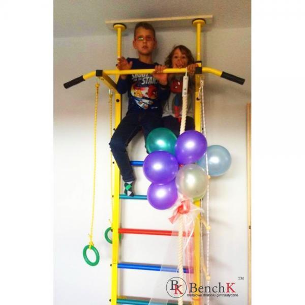 Gymnastic Swedish Sport Kids Indoor Swedish Gymnastic Ladder With Pull Up Bar f4b7f2