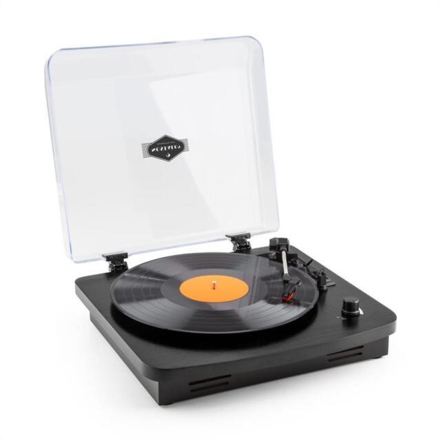 Giradischi Vintage Altoparlanti Integrati Codifica USB-MP3 Mangiadischi Retrò