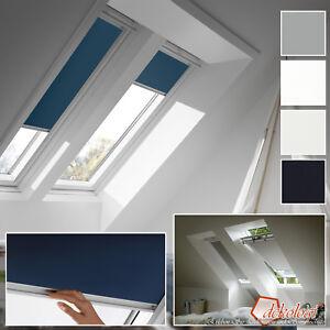 Dachfensterrollo Sichtschutzrollo Rollo für Velux VU//VL Y//VKU dunkelblau