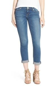 NWT-Hudson-Jeans-Womens-039-Ginny-039-Rolled-Crop-Jeans-26