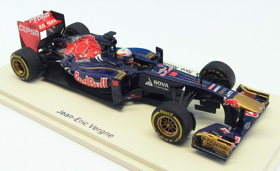 Spark 1 43 Scale S3061 - F1 Scuderia Tgold red STR8