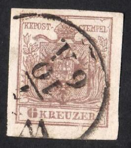 AUTRICHE-N-4-6-KREUZER-USED-CV-8