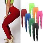 Women YOGA Workout Gym Sports Pants Leggings High Waist Fitness Stretch Trousers