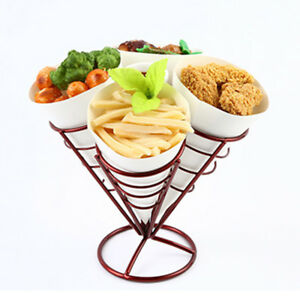 2pcs-French-Fry-Stand-4-Cones-Basket-Holder-for-Fries-Fish-Chips-Appetizers