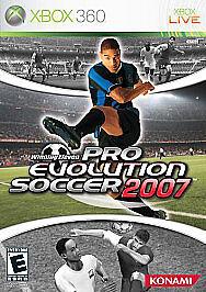 Winning Eleven: Pro Evolution Soccer 2007 - Xbox 360