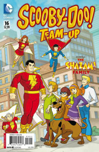 Scooby-Doo-Team-Up-16-DC-COMICS-Shazam-Family-Low-Print-Run-1st-Print