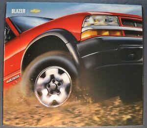 2004 Chevrolet Chevy Blazer ZR2 Xtreme 12-page Original Sales Brochure Catalog