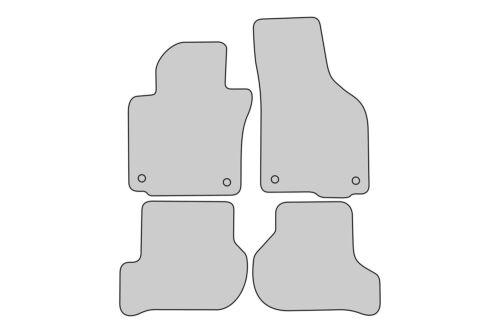 Allwetter Fußmatten für Skoda Octavia 2 II Bj 2004-2013