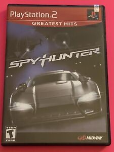 🔥 SONY PS2 PlayStation Two 💯 COMPLETE WORKING GAME 🔥SPY HUNTER 🔥