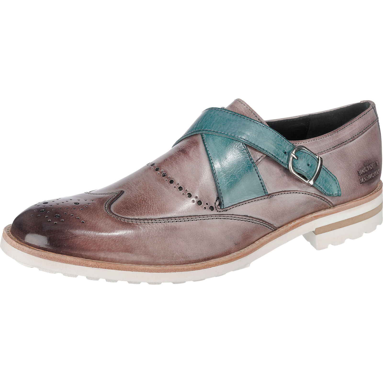 Neu MELVIN & HAMILTON Eddy 14 Business Schuhe lila-kombi 5772989