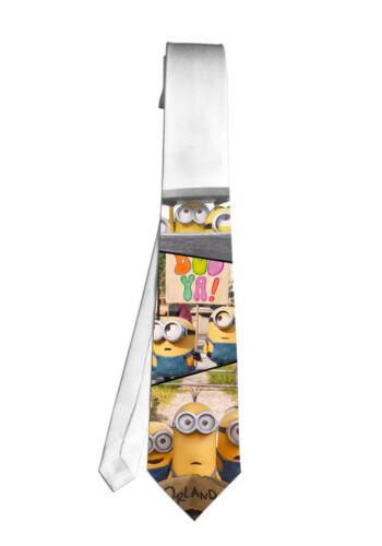 Minions Despicable Me Cartoon Movie Necktie Neck Tie Men Child Cosplay