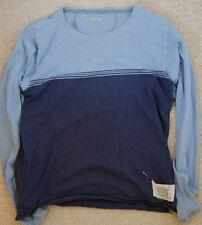 KAPITAL Denim jersey a maniche lunghe Tee Indigo Cotone Taglia 3 Giappone