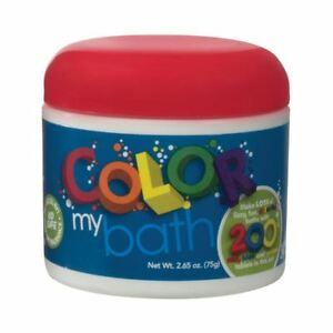 Colour My Bath 200 Tablets Color Kids Bath Accessories