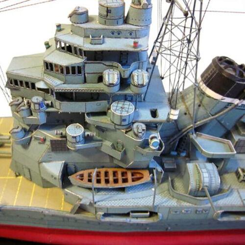 1:250 Japanese Kaohsiung Heavy Cruiser Takao DIY 3D Paper Card Model HF