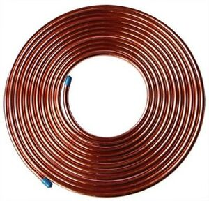 1M-Fuel-Malleable-Copper-Petrol-Pipe-Tube-3-8-OD-x-0-319-ID-Vintage-Classic-Car