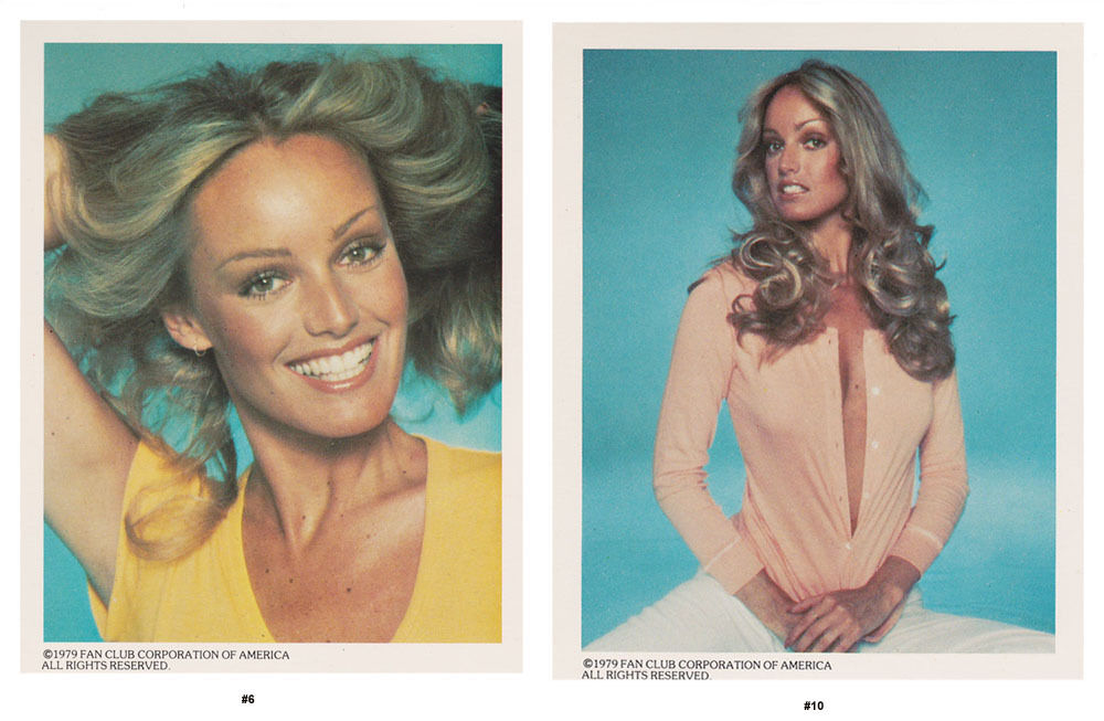 SUSAN ANTON POSTER//PORTFOLIO 13 PCS IN FOLDER   LC7 C FAN CLUB OF AMERICA