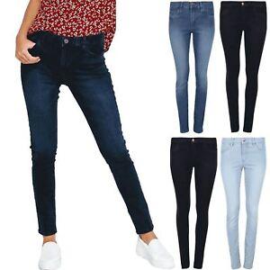 Da-Donna-Ex-Zara-Skinny-Denim-Jeans-Donna-Slim-Aderente-Sbiadito-Stretch-Pants-Pantaloni