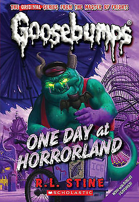 1 of 1 - One Day in Horrorland by R. L. Stine (Paperback, 2009)-9781407108209-G058