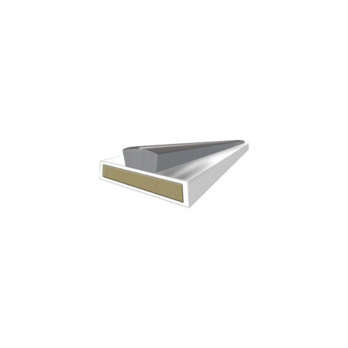 NEW Fire /& Smoke Seal Door Pack 15mm White Each
