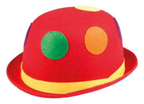 Clowns Hut bunte Bälle NEU Karneval Fasching Hut Mütze Kopfbedeckung