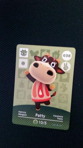 Animal Crossing Series 1 choose 18-60 Amiibo Trading Cards New
