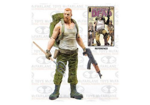 TMP 5 in environ 12.70 cm Mcf-The Walking Dead Comic Series 4 Abraham Ford Figure