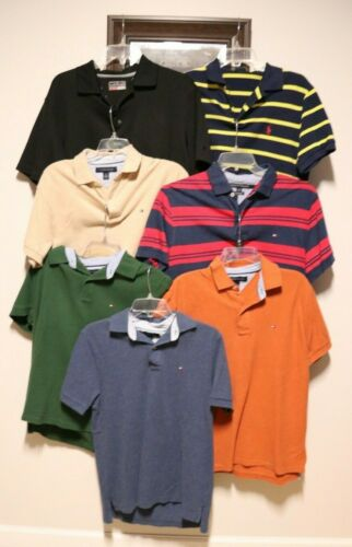 Shirts Polo Mens Ralph Lauren Tommy Hilfiger *7 Sh