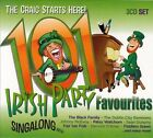101 Irish Partytime Favourites [Box] by Various Artists (CD, May-2013, 3 Discs, Dolphin)