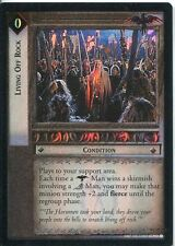 Lord Of The Rings CCG Foil Card TTT 4.U27 Living Off Rock