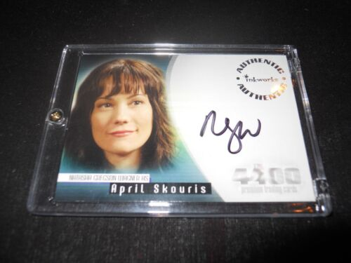 The 4400 Autograph Trading Card Natasha Gregson Wagner as April Holder