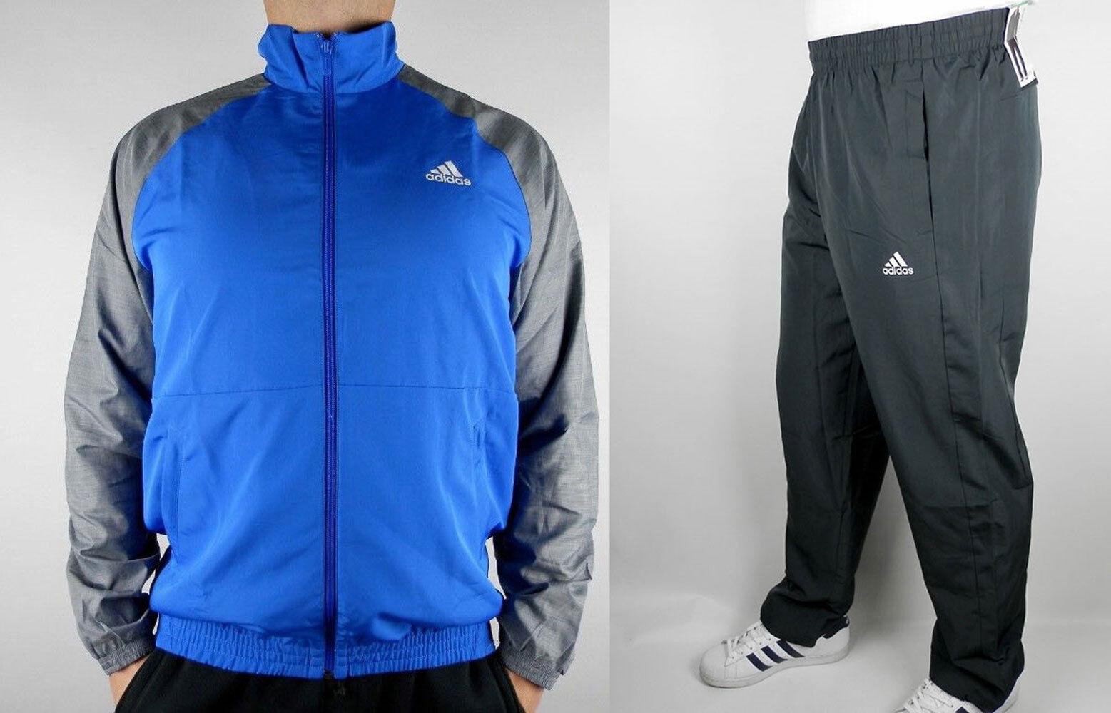 Adidas TS ICONIC Trainingsanzug Sport Komplett  Neu Gr.L