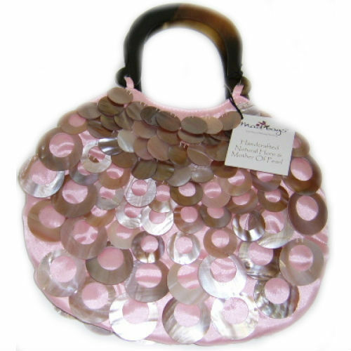 165b36068f Pink Teardrop Handbag Mad Bags Weddings Nights out Gifts for Women 0171d  for sale online