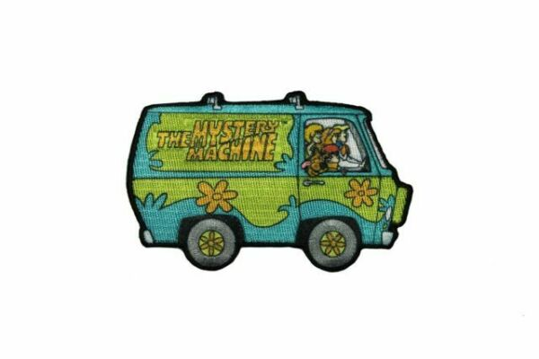 Scooby-Doo Mystery Machine Dye Sublimation Iron On Patch