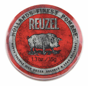 Reuzel Red Pomade Water Soluble 1 3 Oz Hair Wax Amp Pomade
