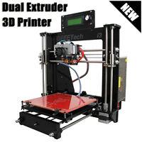 Acrylic Reprap Prusa Geeetech i3 Pro C 3D Drucker Printer Dual Extruder MK8 DIY