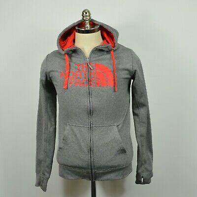 The North Face surgent Half Dome Logo Full Zip Hoodie SweatshirtS grau rot | eBay