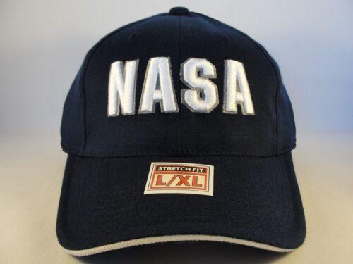 NASA Kennedy Space Center Coupe Extensible Flex Hat Cap Taille L//XL