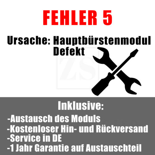 Roborock S50//55//60 Reparatur Aller Fehler  inkl 1 Jahr Garantie Service in DE
