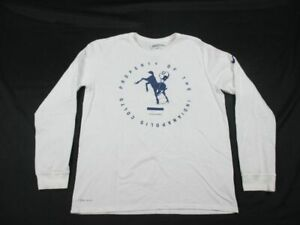 Nike-Indianapolis-Colts-Men-039-s-Long-Sleeve-Shirt-Multiple-Sizes-Used