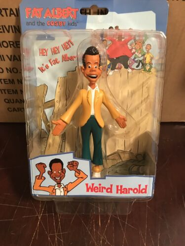 Fat Albert and the Cosby Kids   New WEIRD HAROLD Figure Sealed